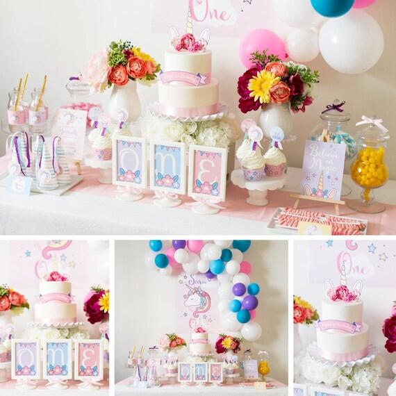 Unicorn Party Decorations Unicorn Birthday Party Decor