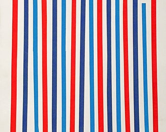 Stripes : Red, White, and Blue