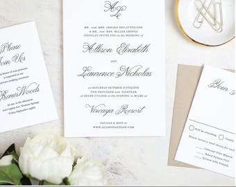 NEW! Wedding Invitations