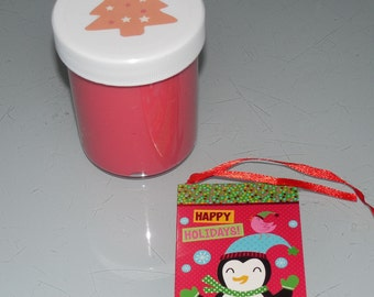 Slime Free shipping Christmas red scented party favors gifts stress relief Limited Edition