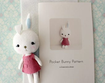 Pocket Bunny Pattern Kit