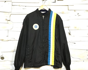 Vintage Nylon Jacket with lining - Large (NY-02)