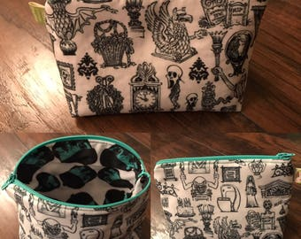 Haunted Mansion Bag or Coin Purse  - Choose your fabric