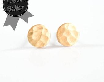 Circle Earrings Circle Stud Earring Circle Jewelry Everyday earrings Minimalist earring Gold stud earring Dainty earrings Geometric Earrings