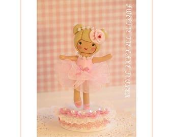 Ballerina 1st Birthday, Ballerina Cake Topper,Dance Birthday Party,Dance Birthday, Ballet Birthday Party, Ballet Birthday Cake Decorations