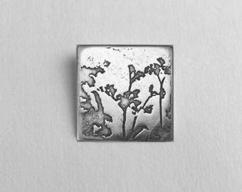 Meadow Sweet - Photoetched Pendant -  Ready to Send!