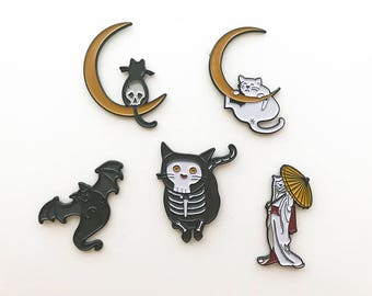 Stephanie Inagaki Kitty Pins