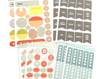 Planner Stickers by Studio Calico