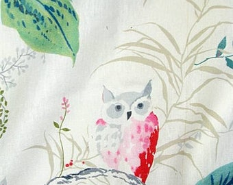 FABRIC - Kravet Owlish Print Designed by Kate Spade in Multi - 3 Yards Available