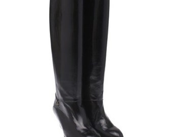 GUCCI Boots Tall Riding Knee High