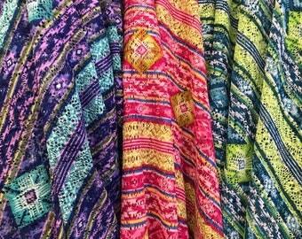 Tribal  Stretch Lace