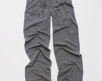 pant...pant...pant...LETS PLAY French Bulldog Pants, Yoga Pants, Lounge Pants, S,M,L,XL