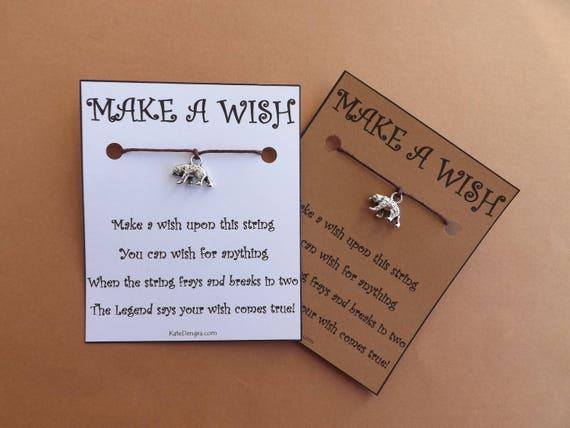Bear Wish Bracelet