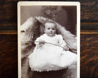 Nobody puts baby in a corner ~ Antique photograph, Portrait, Victorian, Edwardian