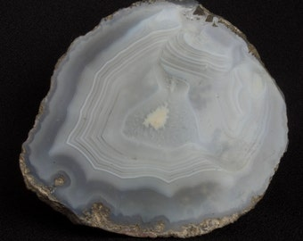 Agate Polished Geode Half