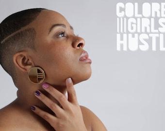 Velocity Earrings by Colored Girls Hustle