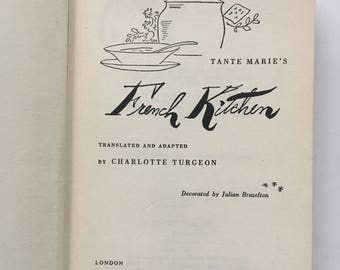 Tante Marie's French Kitchen, french cookbook