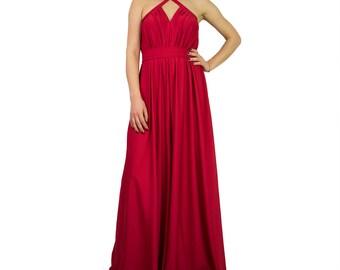 Red jumpsuit/ Women loose jumpsuit/ loose pants jumpsuit/ jumpsuits plus size/ loose jumpsuit/ maxi jumpsuit/ party jumpsuit ZEPHYR