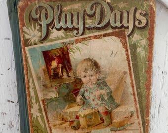 Antique Childrens Book W B Conkey Company 1894