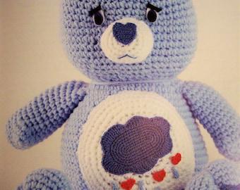 Care Bear Crochet kit by Mary Maxim - Grumpy Bear