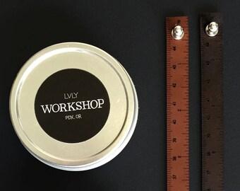 Wrist Ruler Leather Black or Brown