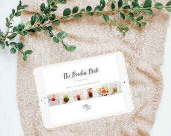"""INSTANT DOWNLOAD - """"The Boocha Book"""" - A Digital Book of Low Carb Mock Kombucha Recipes"""