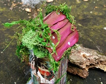 Butterfly woods mini fairy house