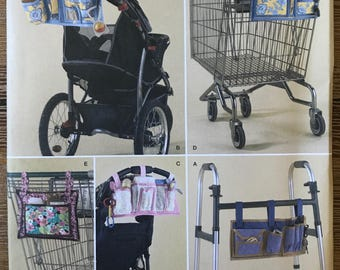 UNCUT Bag for Walker, Wheelchair or Lounge Chair Simplicity 2664 Craft, Gift Idea, DIY, Bag, Organizer, Shopping Cart, Stroller