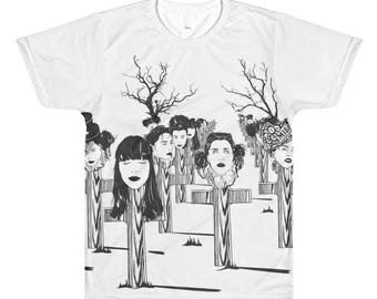 Men's - Off with my head, All-Over Printed T-Shirt