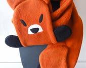 Echarpe renard taille adulte