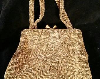 Vintage Walborg Seed bead handbag