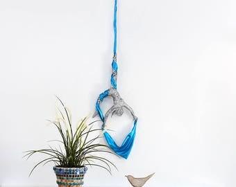 Metal wall art sculpture, Aerial silks, Acrobat sculpture, Acrobatic Fabric, wall decor ideas, Aerialfabric