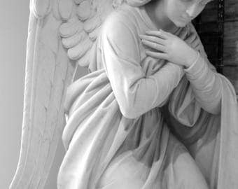 The Power of Prayer, Black and White Photograph, Fine Art Photograph, Sculpture