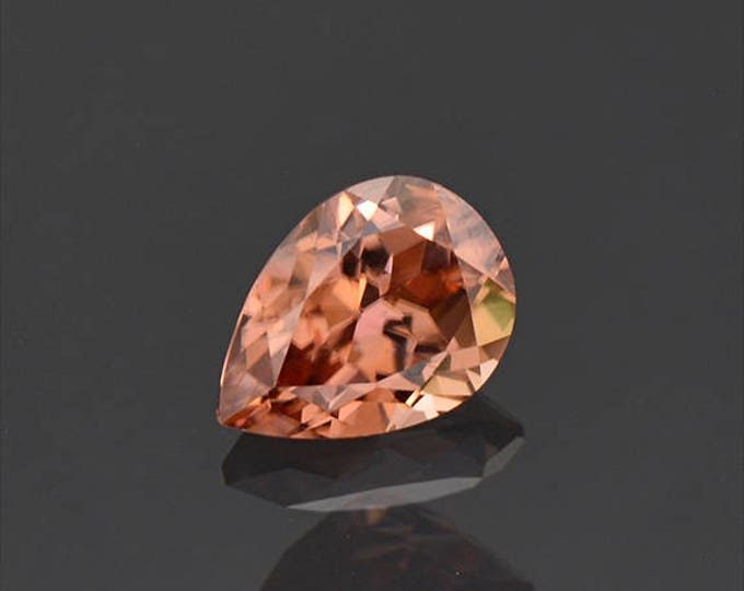 Lovely Peach Champagne Zircon Gemstone from Tanzania 2.14 cts.