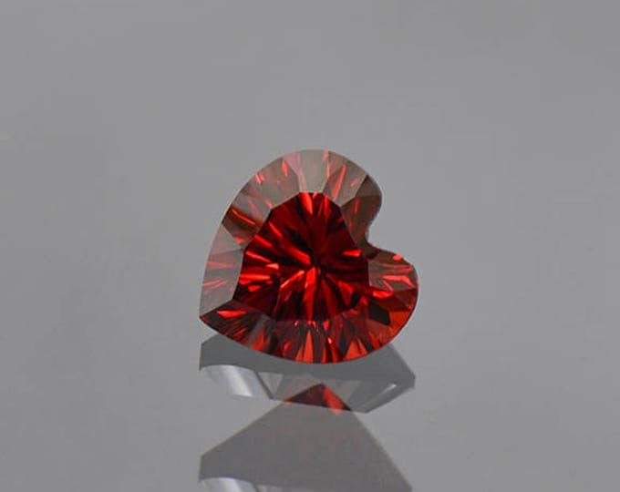 Beautiful Deep Red Rhodolite Garnet Gemstone from Tanzania 2.26 cts.