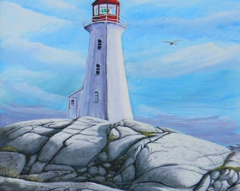 Rocks of Ages. Peggy's Cove Nova Scotia 8 x 10 Epson Artisan print only . Frame and Mat not incl.