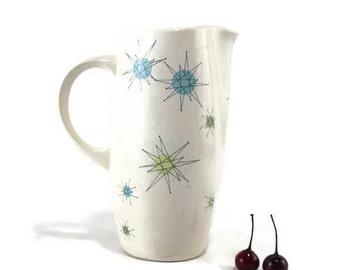 Vintage Franciscan Starburst 56 Ounce Pitcher * Mid Century Atomic Dishes