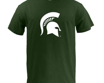 Michigan State Spartans Primary Logo T Shirt
