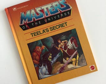 1985 Masters of the Universe 'Teela's Secret' Hardcover Book
