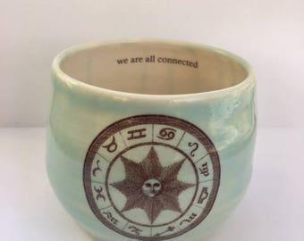 Porcelain Zodiac Cup