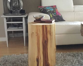 Stump Tables,Log Furniture,Stump Side Tables,Tree Stump Table,Stump Coffee Table like Ellen, Log Table, Rustic Furniture