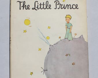 1st Ed. The Little Prince, 1943 Hard Cover First Edition Full illustrations by Antoine de Saint-Exupery