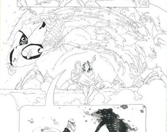 Mirenda #4 Page 11 Original Artwork