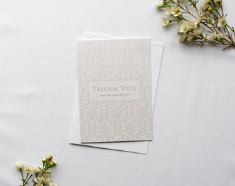 SARAH // Wedding Stationery // Thank You Card