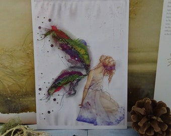 Fabric Faerie Small Art Print