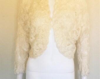 Vintage Creme Sweater