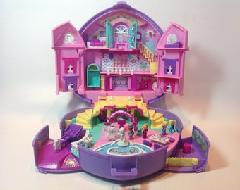 """Very Rare """"Wonderful Wedding Party"""" Polly Pocket Musical Play Set. 1994. 100% Complete. Music Working! Polly Pocket """"Musical Dream Wedding""""."""