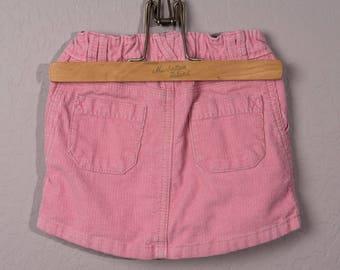 Vintage Baby Gap Skirt, 1990's Baby Gap Corduroy Size 3 Skirt