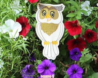 Owl Garden Stake, Garden Decor, Plant Gift, New Home Gift, Plant Markers