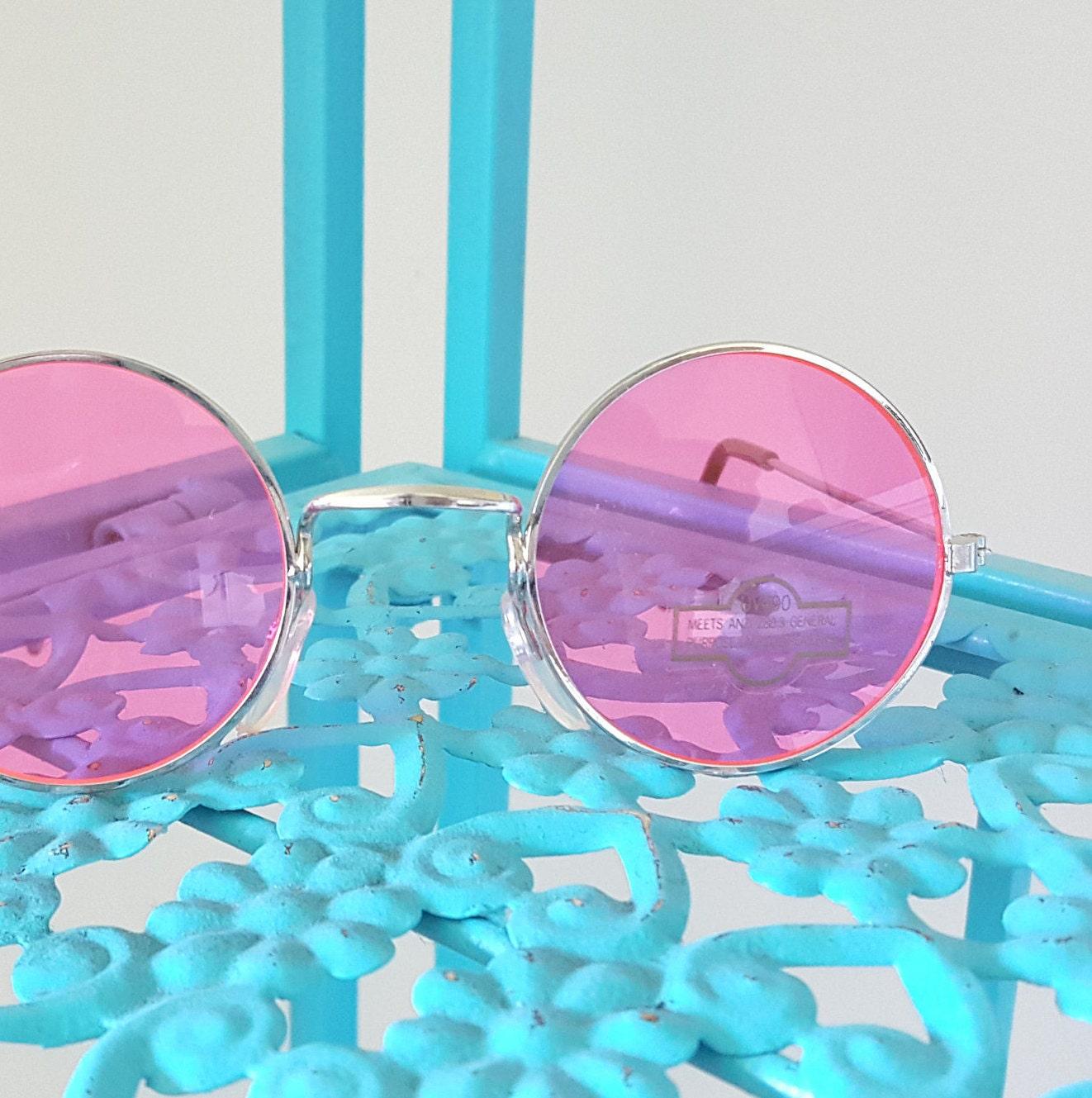bcb3d934464d Vintage Pink John Lennon Sunglasses